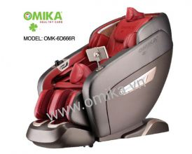 OMIKA SIGNATURE PREMIUM MASSAGE CHAIR 6D RED